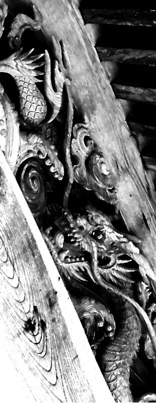 銀風 和のイメージした龍の写真