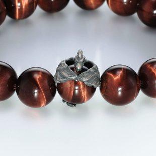 宝石ダイヤモンドを使ったその他のモチーフのデザインが特徴的な銀風ブレスレットの商品写真です。型番:GP401004-01 画像その2