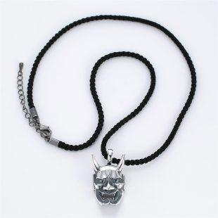 和風とその他のモチーフのデザインが特徴的な銀風ネックレス/ペンダントの商品写真です。型番:GP201008-01~08 画像その1