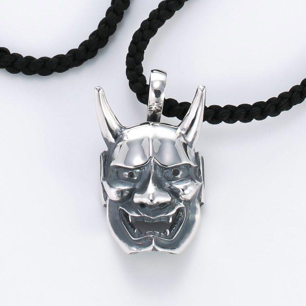 和風とその他のモチーフのデザインが特徴的な銀風ネックレス/ペンダントの商品写真です。型番:GP201008-01~08 画像その2