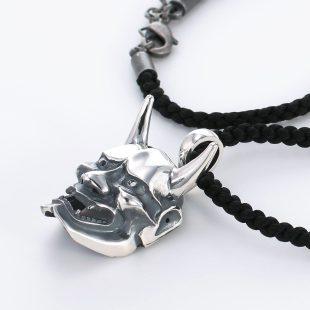 和風とその他のモチーフのデザインが特徴的な銀風ネックレス/ペンダントの商品写真です。型番:GP201008-01~08 画像その3