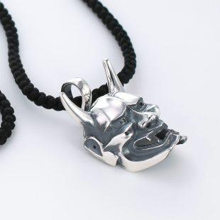 和風とその他のモチーフのデザインが特徴的な銀風ネックレス/ペンダントの商品写真です。型番:GP201008-01~08 画像その4