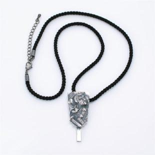 和風とその他のモチーフのデザインが特徴的な銀風ネックレス/ペンダントの商品写真です。型番:GP201009-01~06 画像その1