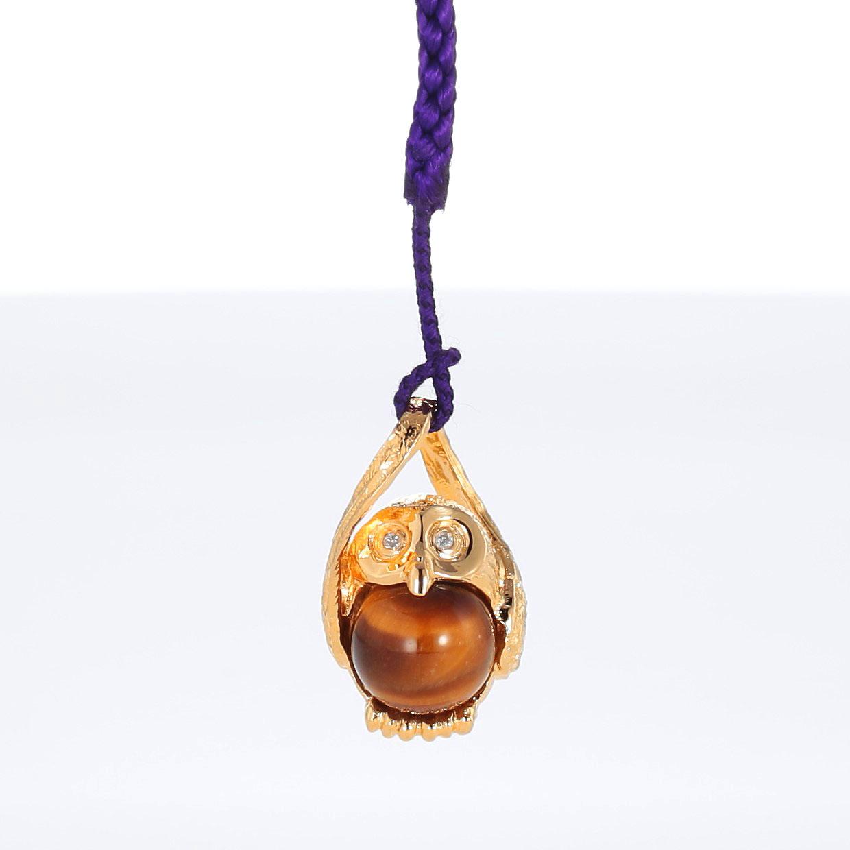 宝石クォーツ・水晶とダイヤモンドを使った和風と開運・ラッキーとその他のモチーフのデザインが特徴的な銀風根付・ピンズの商品写真です。型番:GP501002-01~02 画像その2