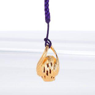 宝石クォーツ・水晶とダイヤモンドを使った和風と開運・ラッキーとその他のモチーフのデザインが特徴的な銀風根付・ピンズの商品写真です。型番:GP501002-01~02 画像その4