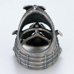 和風のデザインが特徴的な銀風指輪の商品写真です。型番:GP101010-01 画像その4