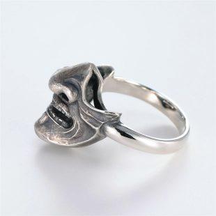 和風のデザインが特徴的な銀風指輪の商品写真です。型番:GP101010-01 画像その7