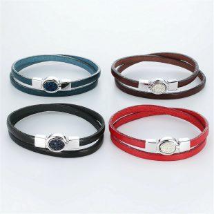 その他のモチーフのデザインが特徴的な環の色ブレスレットの商品写真です。型番:LE401003-01~04 画像その5