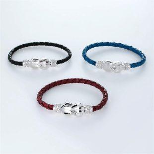 その他のモチーフのデザインが特徴的な環の色ブレスレットの商品写真です。型番:LE401004-01~03 画像その5