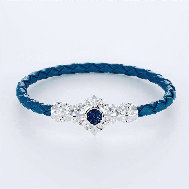 その他のモチーフのデザインが特徴的な環の色ブレスレットの商品写真です。型番:LE401007-01~03 画像その1