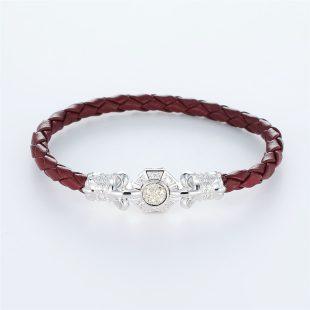 その他のモチーフのデザインが特徴的な環の色ブレスレットの商品写真です。型番:LE401008-01~03 画像その1