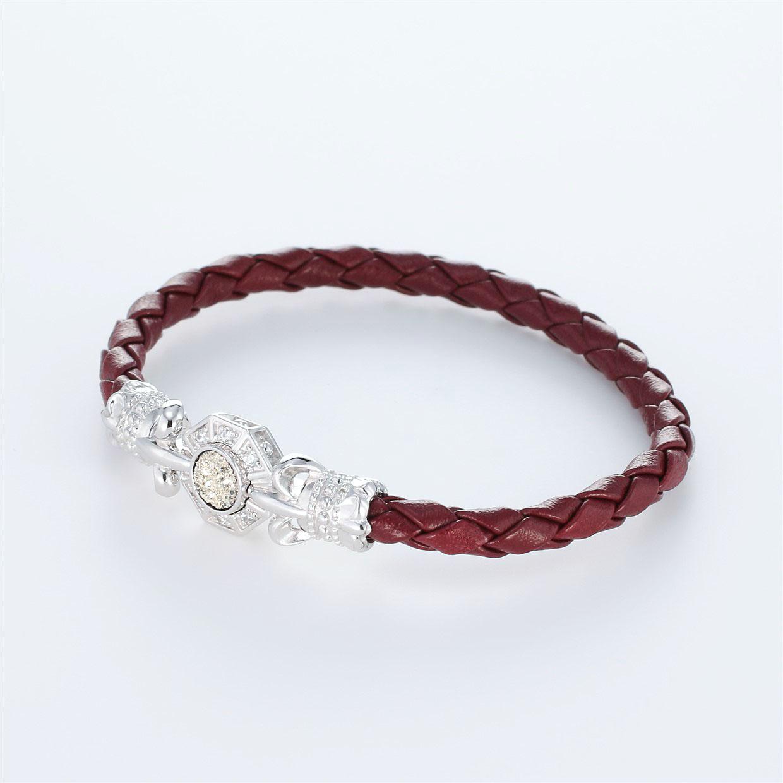 その他のモチーフのデザインが特徴的な環の色ブレスレットの商品写真です。型番:LE401008-01~03 画像その2