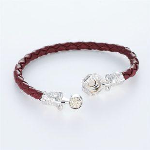 その他のモチーフのデザインが特徴的な環の色ブレスレットの商品写真です。型番:LE401008-01~03 画像その4