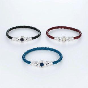 その他のモチーフのデザインが特徴的な環の色ブレスレットの商品写真です。型番:LE401008-01~03 画像その5