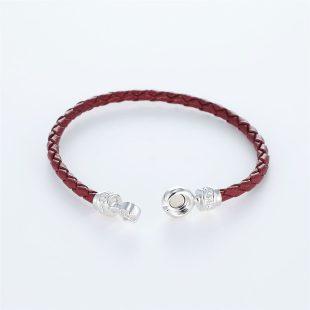 宝石キュービックを使ったその他のモチーフのデザインが特徴的な環の色ブレスレットの商品写真です。型番:LE401011-01~03 画像その4