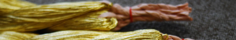金銀糸アクセサリー 糸の束