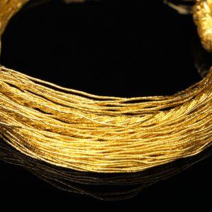 和の彩 金銀糸ブレスレットの商品写真です。型番:658-934 画像その2