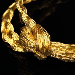 和の彩 金銀糸ブレスレットの商品写真です。型番:658-936 画像その2