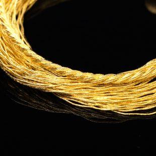 和の彩 金銀糸ブレスレットの商品写真です。型番:658-973 画像その2