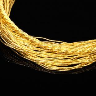 和の彩 金銀糸ブレスレットの商品写真です。型番:658-975 画像その2