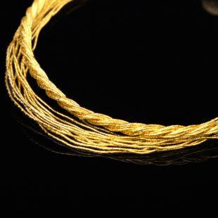 和の彩 金銀糸ブレスレットの商品写真です。型番:658-985 画像その2
