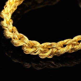 和の彩 金銀糸ブレスレットの商品写真です。型番:659-099 画像その2
