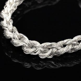 和の彩 金銀糸ブレスレットの商品写真です。型番:659-100 画像その2