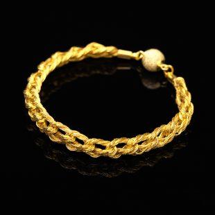 和の彩 金銀糸ブレスレットの商品写真です。型番:659-101 画像その1