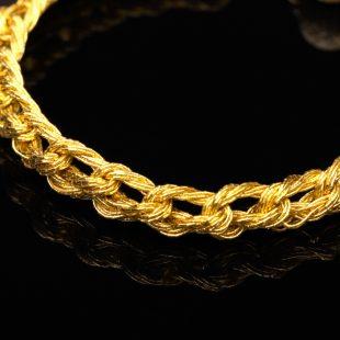 和の彩 金銀糸ブレスレットの商品写真です。型番:659-101 画像その2