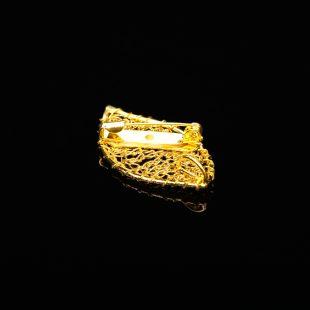 和の彩 金銀糸ブローチの商品写真です。型番:659-147 画像その3