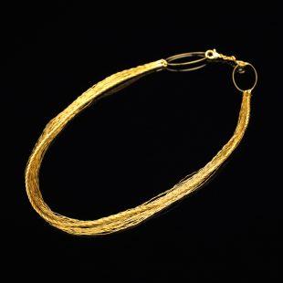 和の彩 金銀糸ネックレス/ペンダントの商品写真です。型番:658-871 画像その3