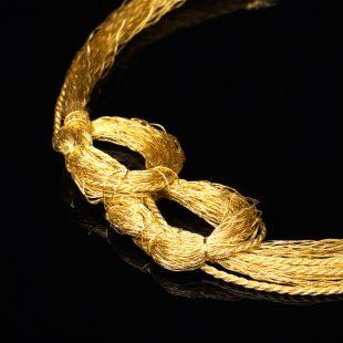 和の彩 金銀糸ネックレス/ペンダントの商品写真です。型番:658-910 画像その2