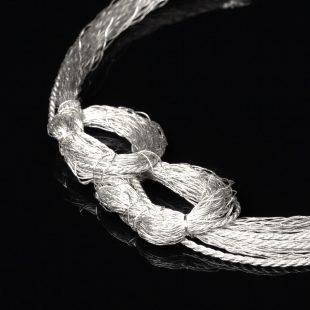 和の彩 金銀糸ネックレス/ペンダントの商品写真です。型番:658-911 画像その2