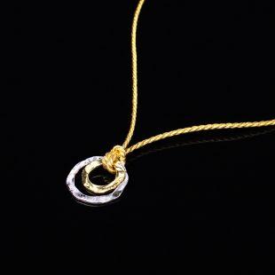 和の彩 金銀糸ネックレス/ペンダントの商品写真です。型番:658-918 画像その2