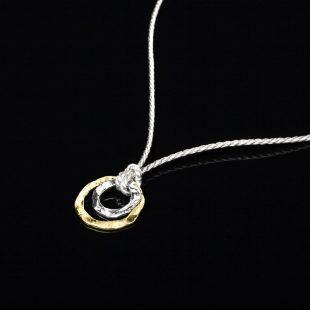 和の彩 金銀糸ネックレス/ペンダントの商品写真です。型番:658-919 画像その2