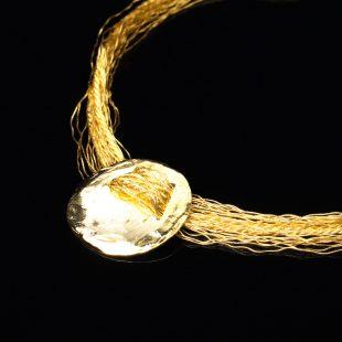 和の彩 金銀糸ネックレス/ペンダントの商品写真です。型番:658-924 画像その2
