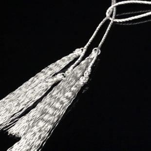 和の彩 金銀糸ネックレス/ペンダントの商品写真です。型番:658-931 画像その2