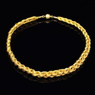 和の彩 金銀糸ネックレス/ペンダントの商品写真です。型番:659-095 画像その1