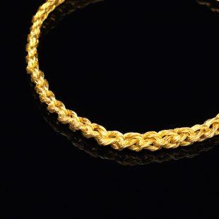 和の彩 金銀糸ネックレス/ペンダントの商品写真です。型番:659-095 画像その2