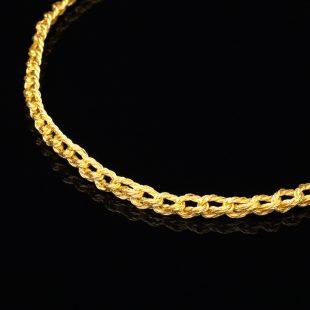 和の彩 金銀糸ネックレス/ペンダントの商品写真です。型番:659-097 画像その2
