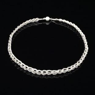 和の彩 金銀糸ネックレス/ペンダントの商品写真です。型番:659-098 画像その1