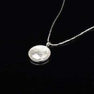 宝石クォーツ・水晶を使った和の彩 金銀糸ネックレス/ペンダントの商品写真です。型番:659-158 画像その2
