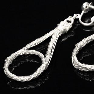 和の彩 金銀糸ピアスとイヤリングの商品写真です。型番:658-941 画像その4