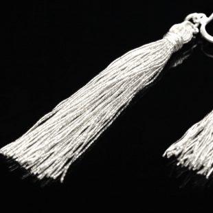 和の彩 金銀糸ピアスとイヤリングの商品写真です。型番:658-943 画像その4